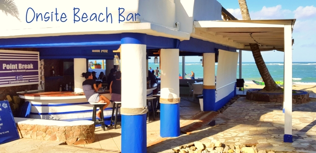 Onsite Beach Bar